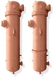 Подогреватель сетевой воды с фланцевым разъемом